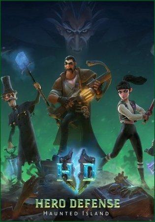 Hero Defense - Haunted Island (2016) стратегии на компьютер через торрент