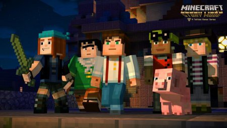 Minecraft: Story Mode - A Telltale Games Series. Episode 1-8 (2015) приключения на пк торрент,