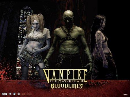 Vampire: The Masquerade Bloodlines [v 9.5] (2004) PC   Лицензия скачать рпг торрент