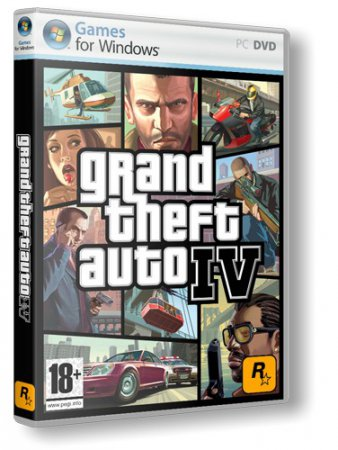 Скачать торрент GTA 4 / Grand Theft Auto IV (2010) Repack