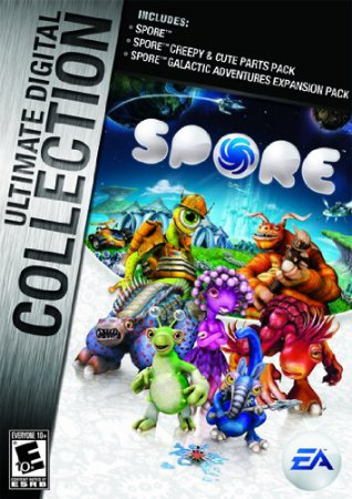 Скачать торрент Spore: Complete Edition (2009) PC | RePack