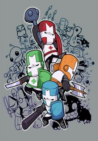 Castle Crashers: Steam Edition (2012) скачать аркады