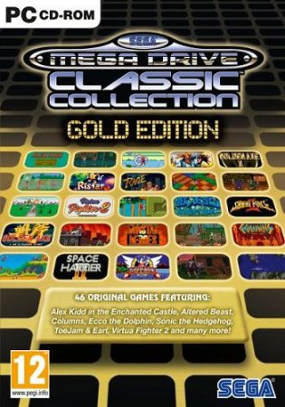 SEGA Mega Drive and Genesis Classics Collection (2010) игры аркады | RePack
