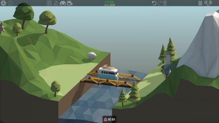 Poly Bridge (2016) скачать симулятор | RePack