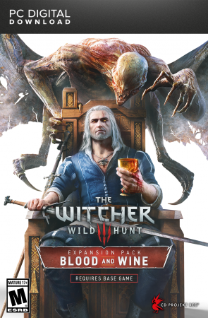 The Witcher 3: Wild Hunt - Blood and Wine DLC (отдельно)