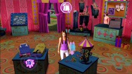 Ханна Монтана Кино / Hannah Montana The Movie (2009) игры аркады | RePack