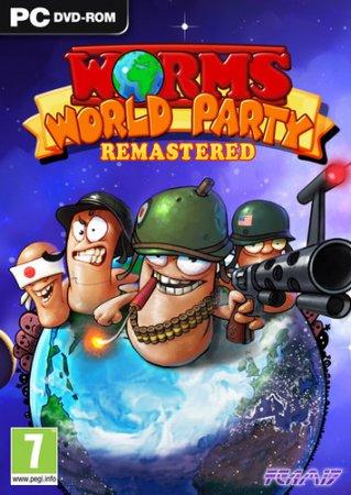 Worms World Party Remastered (2015) экшен скачать торрент