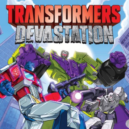 Трансформеры игра Transformers: Devastation (2015) экшены на пк
