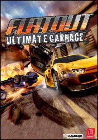 FlatOut: Ultimate Carnage (2008) гонки через торрент