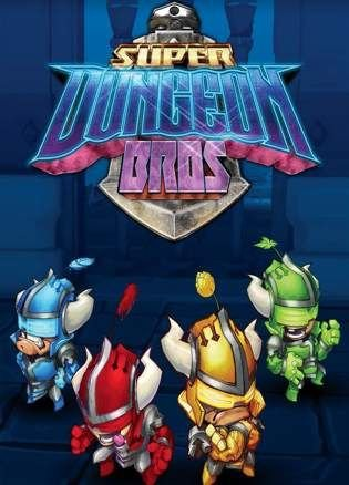 Super Dungeon Bros (2016) PC экшен скачать торрент