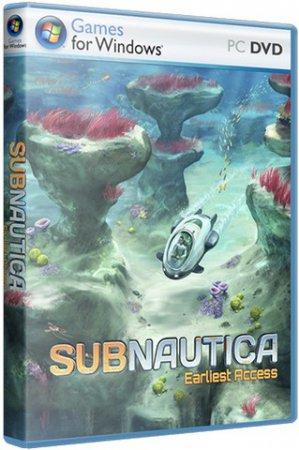 Subnautica (2018) скачать бесплатно игру приключения торрент