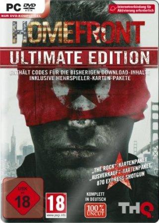 Homefront: Ultimate Edition (2011) скачать стрелялки