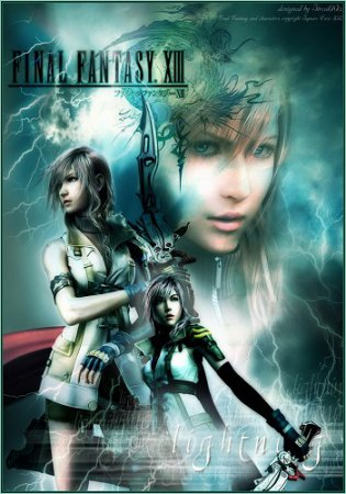 Final Fantasy XIII (2014) экшен на PC