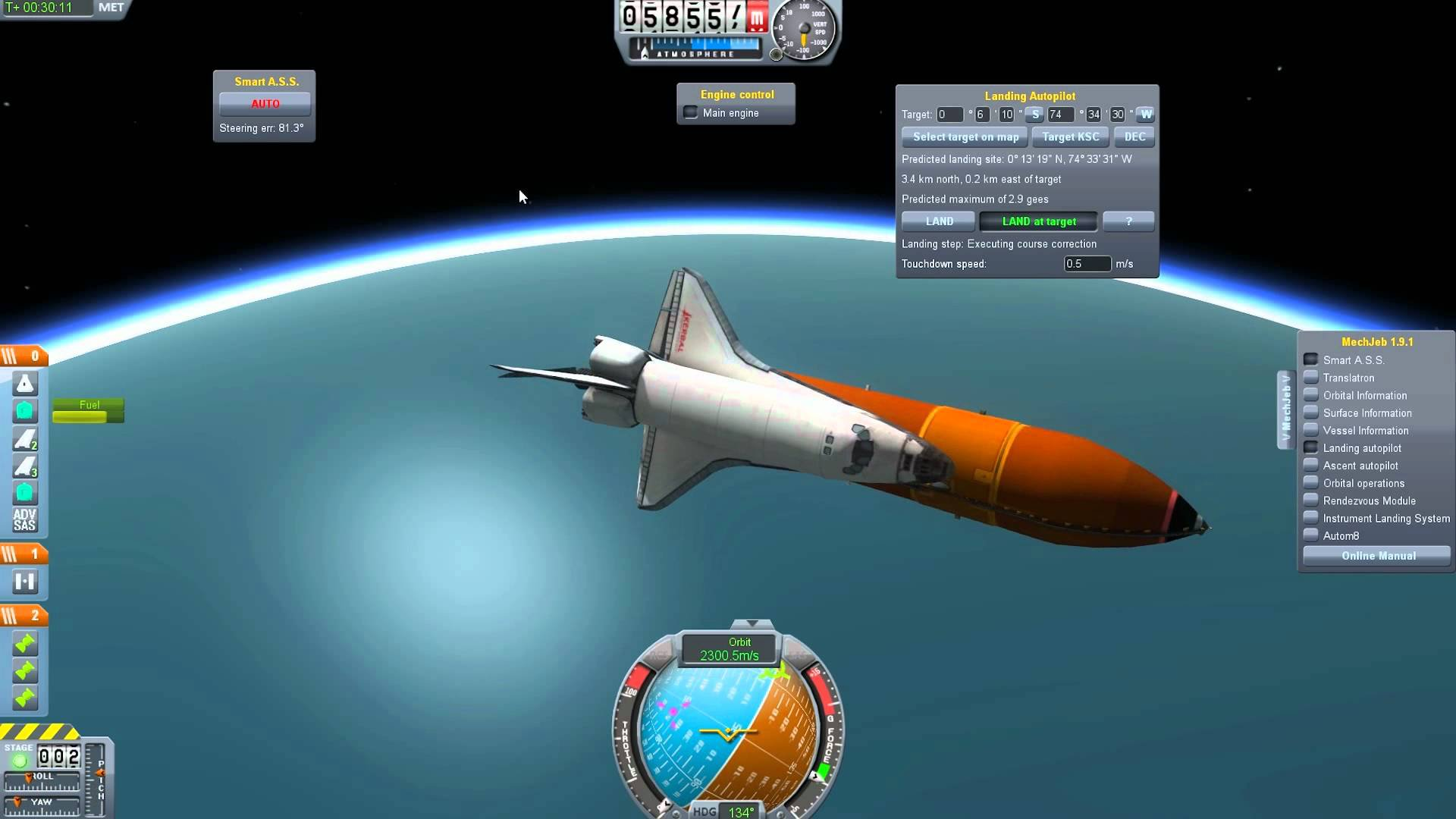 скачать через торрент игру kerbal space program