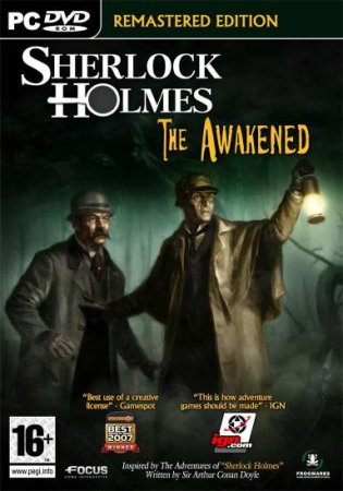 Sherlock Holmes: The Awakened - Remastered Edition (2008) приключения PC