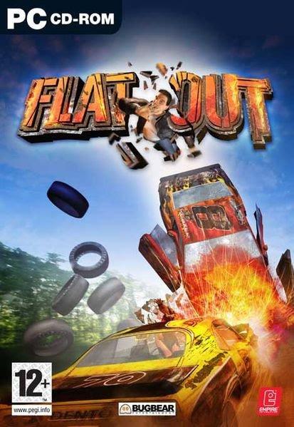 FlatOut (2004) гонки на PC