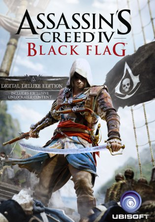 Assassin's Creed IV: Black Flag (2013) скачать экшен на пк