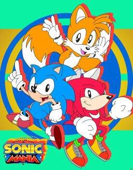 Sonic Mania (2017) торрент аркада PC