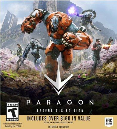 Скачать Paragon (2016) PC | Онлайн-Игра