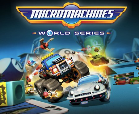 Micro Machines World Series (2017) скачать  гонки на PC | RePack