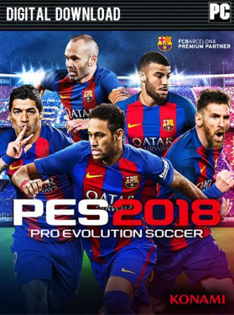 PES 2018 / Pro Evolution Soccer 2018: FC Barcelona Edition (2017) футбол торрент PC