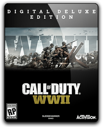 Call of Duty: WWII - Digital Deluxe Edition (2017) экшен на пк