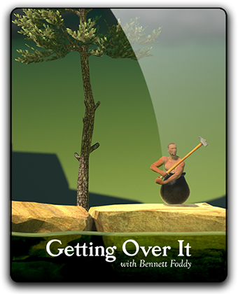 Преодоление / Getting Over It with Bennett Foddy (2017) аркада PC | RePack
