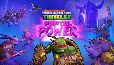 Teenage Mutant Ninja Turtles: Portal Power (2017) торрент Экшен