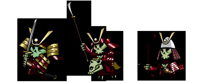 Скачать  Skulls of the Shogun воины