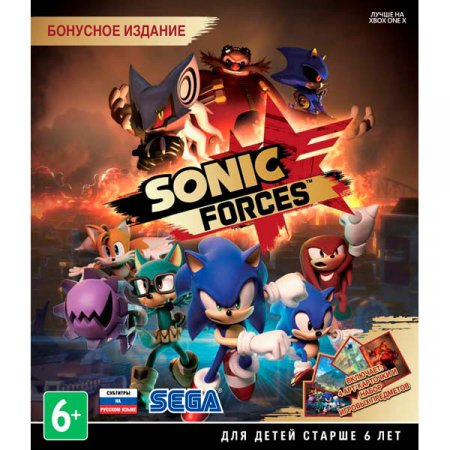 Sonic Forces торрент (2017) PC