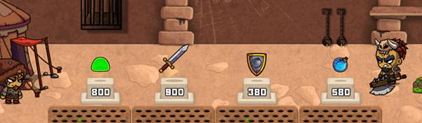 Предметы, оружие и добыча в игре SON OF A WITCH