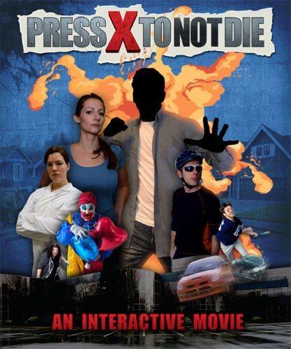 Press X to Not Die / Жми Х чтобы Не Умереть (2017) приключение PC