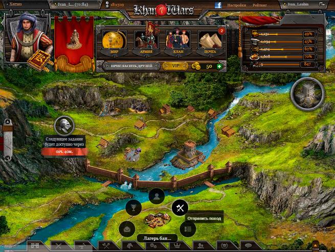 Княжеские войны геймплей