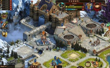 Viking War of Clans геймплей