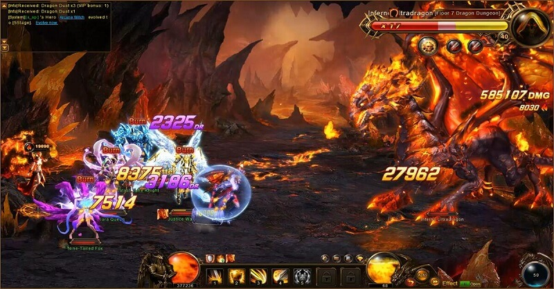 Dragon Awaken битва
