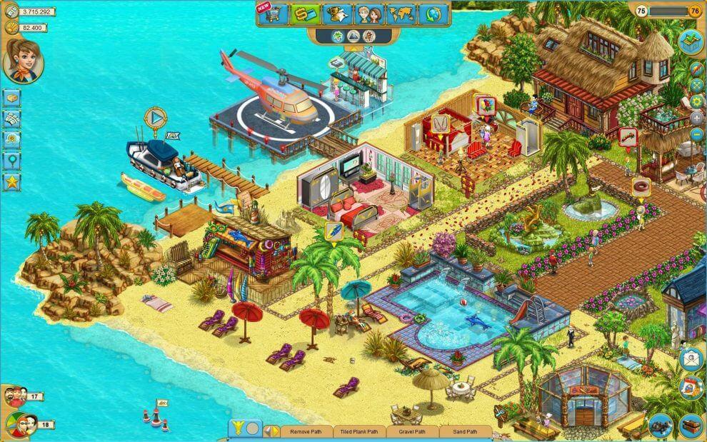 симулятор My Sunny Resort