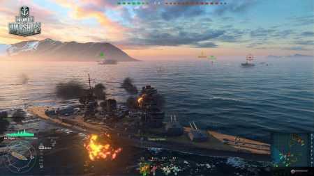 World of Warships игра скриншот