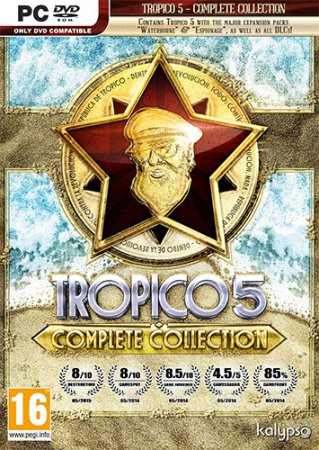 Tropico 5: Complete Collection (2014) PC | RePack от FitGirl